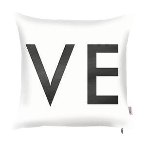 Biela obliečka na vankúš Apolena Vo, 43 x 43 cm