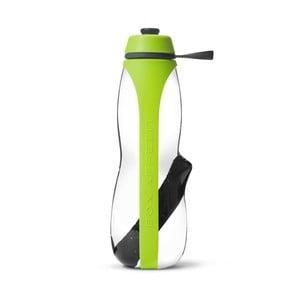 Zelená športová filtračná fľaša s binchotanom Black+Blum Eau Good Duo, 700ml