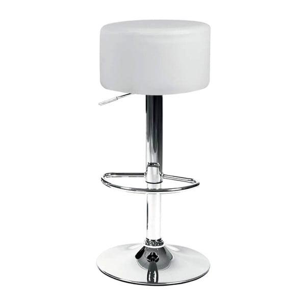 Barová stolička London, biela