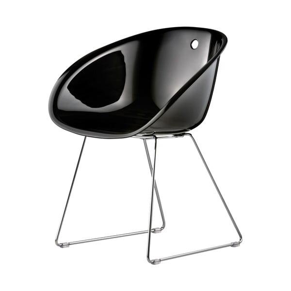 Čierna stolička Pedrali Gliss 921