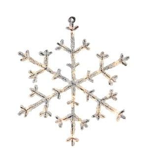 Svietiaca LED dekorácia Best Season Icy Snowflake, 30 cm