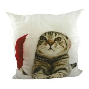 Vankúš Christmas Cat 50x50 cm