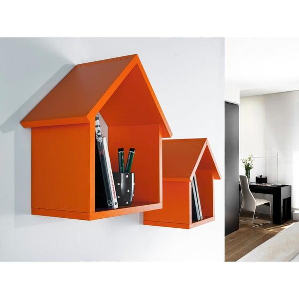 Sada 2 políc Maison, oranžová