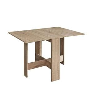 Hnedý rozkladací stôl 13Casa Trick