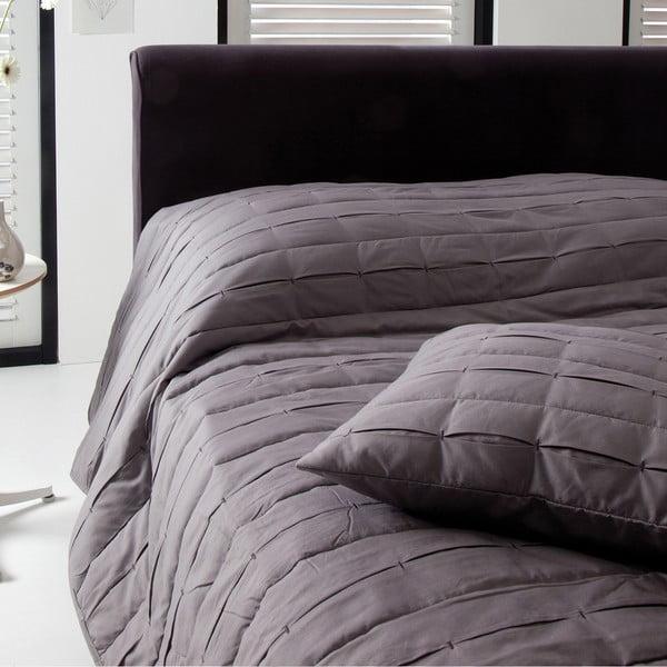 Prikrývka na posteľ Ritual Walnut, 270x270 cm