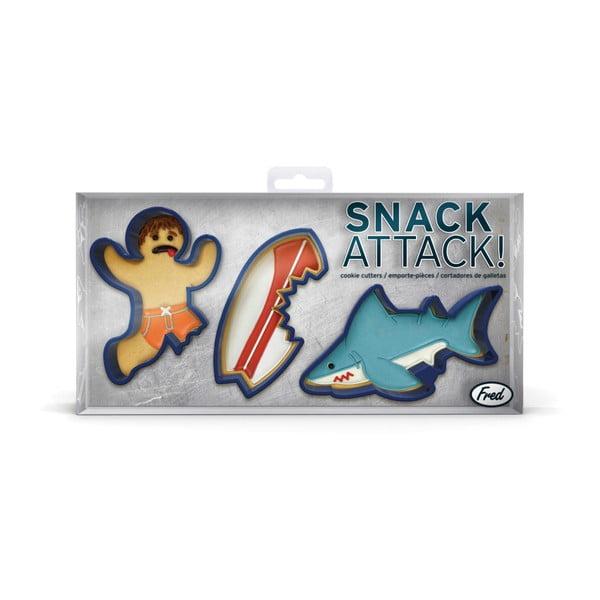 Sada 5 formičiek Fred & Friends Snack Attack