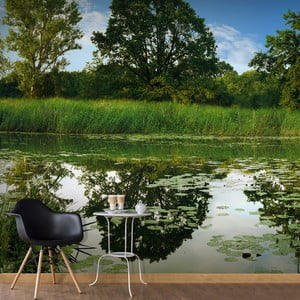Veľkoformátová tapeta Artgeist Stony Magic Pond, 300x210cm