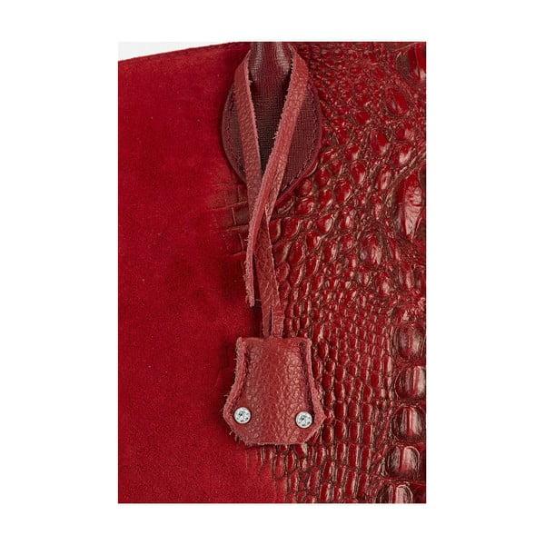Kožená kabelka Giorgio Costa 15016 Red