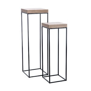 Set 2 stolíkov Geometric