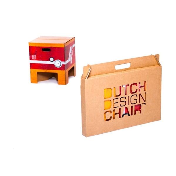Stolička Dutch Design Chair Heavy Metal