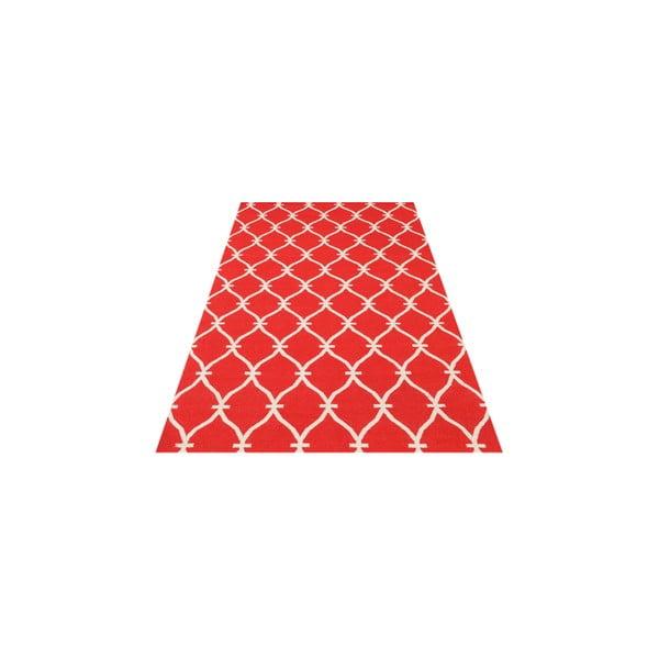 Vlnený  koberec Kilim Belinda Red, 155x240 cm