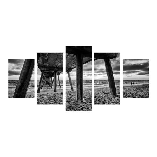 Viacdielny obraz Black&White Sea