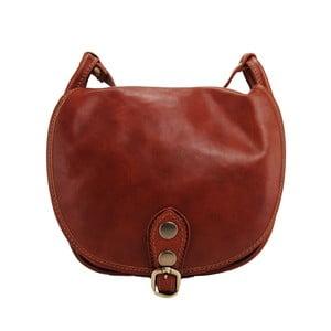 Kožená kabelka Amarette Marrone