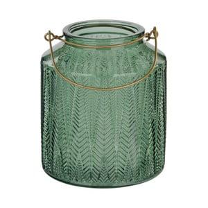 Zelený svietnik na čajovú sviečku Native Cadena, ⌀14 cm