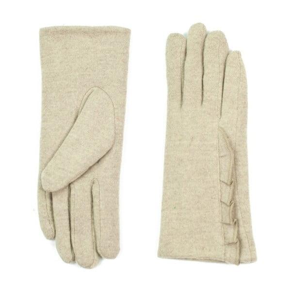 Krémové rukavice Jeanne
