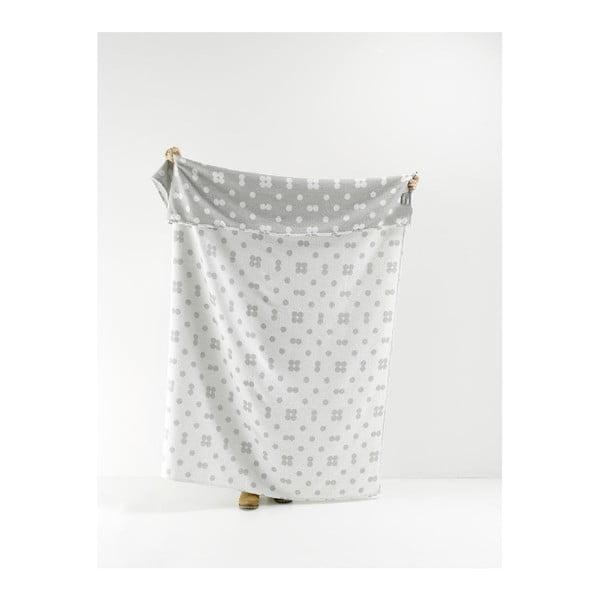 Obojstranná deka Roomblush Dots, 130x180cm