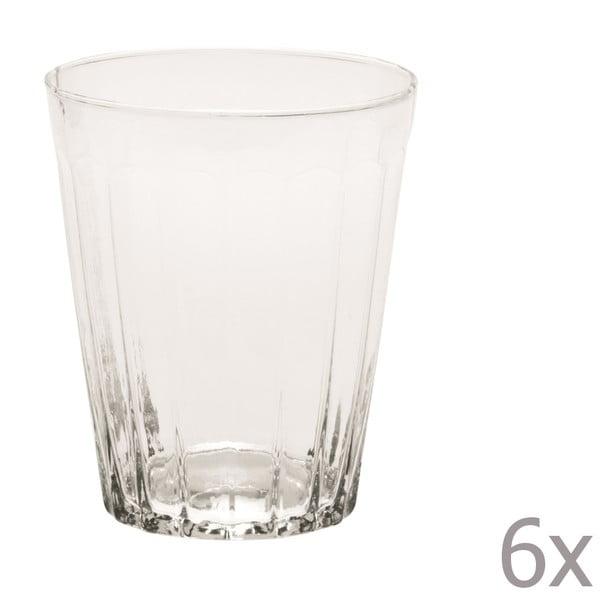 Sada 6 pohárov na vodu Lucca Transparent, 450 ml