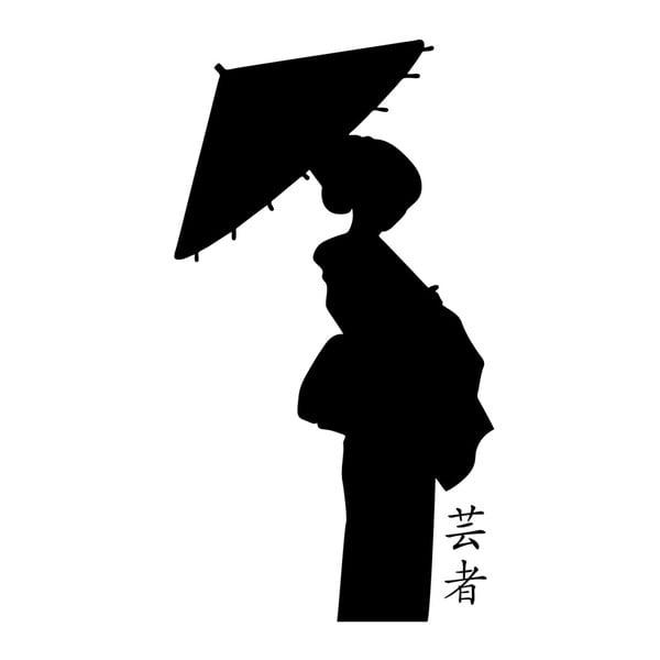 Samolepka Ambience Traditional Japanese Woman