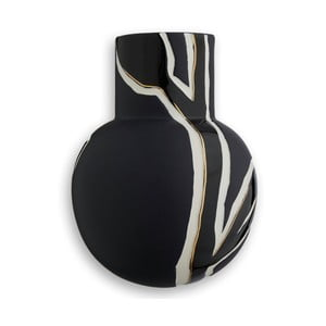 Tmavomodrá kameninová váza Kähler Design Fiora Wall