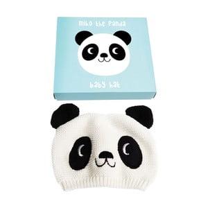 Detská čiapočka zo 100% bavlny s pandou Rex London