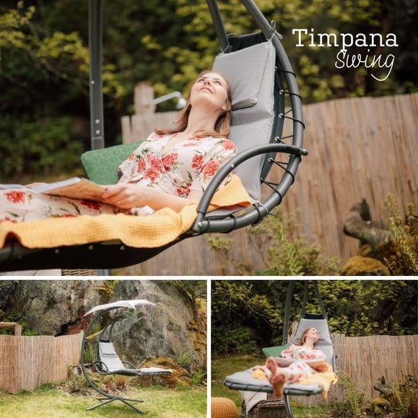 Kreslo so slnečníkom Timpana Swing