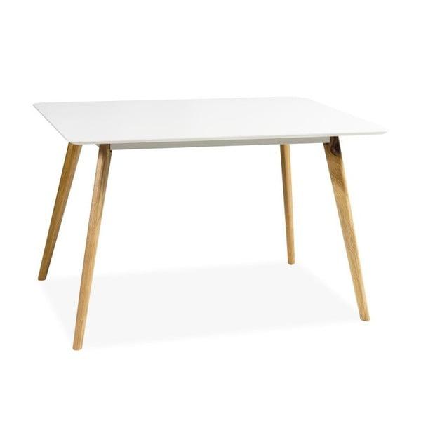 Jedálenský stôl Milan, biely