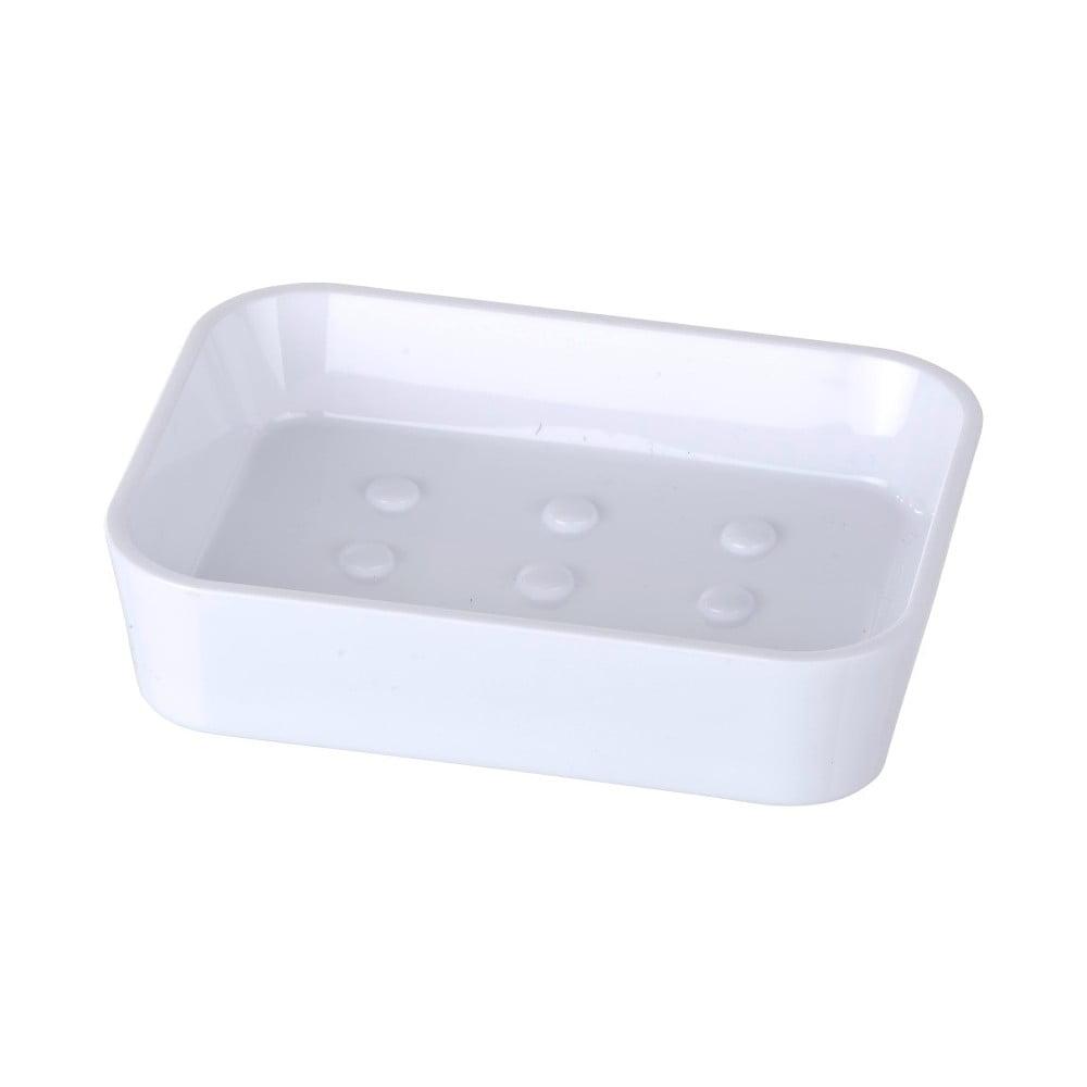 Biela nádoba na mydlo Wenko Candy