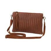 Hnedá kabelka z pravej kože Andrea Cardone Michele
