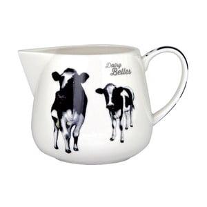 Nádoba namlieko z kostného porcelánu Ashdene Dairy Belles, 375 ml