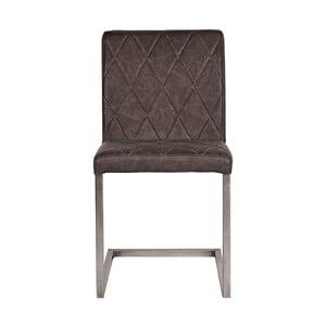 Tmavo-sivá jedálenská stolička LABEL51 Stockholm