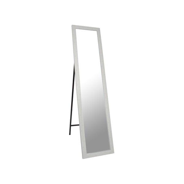 Stojacie zrkadlo Standing 37x158 cm, biely rám