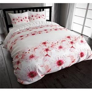 Flanelové obliečky Pinky Winter, 140x200 cm