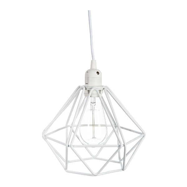 Stropné svetlo Geometric White, 23x23x129 cm
