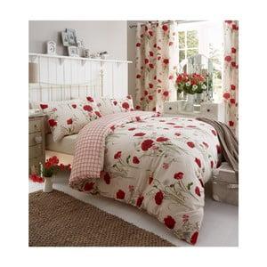 Obliečky Catherine Lansfield Wild Poppies, 135×200 cm