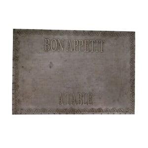 Dekoratívna tabuľa Antic Line Zinc