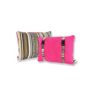 Vodeodolný, obojstranný vankúšik Dream Pillow Fuchsia Tribal