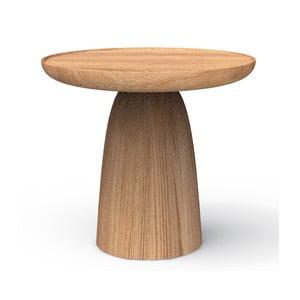 Odkladací stolík z masívneho dubového dreva Javorina Hrib 50