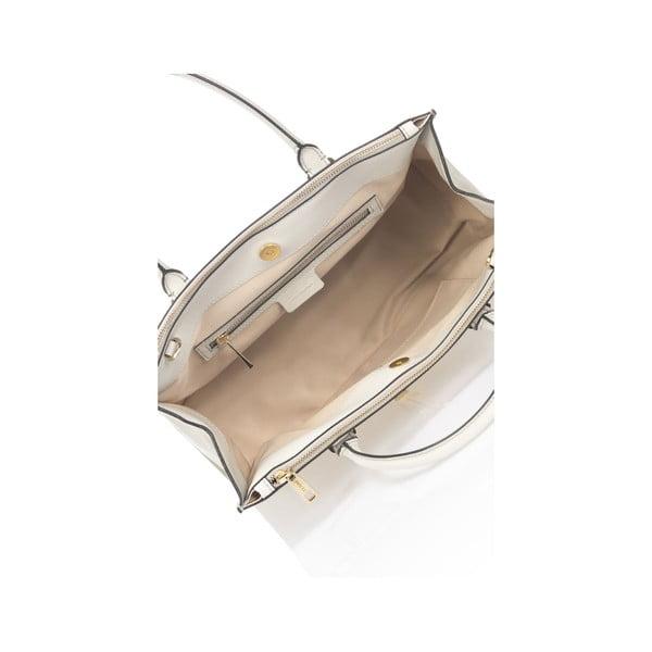 Svetlosivá kožená kabelka Krole Kate