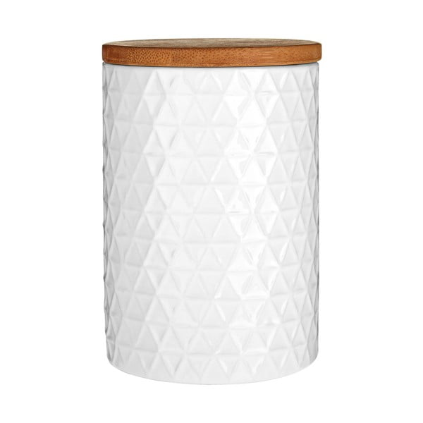 Dóza Premier Housewares White Tri Canister