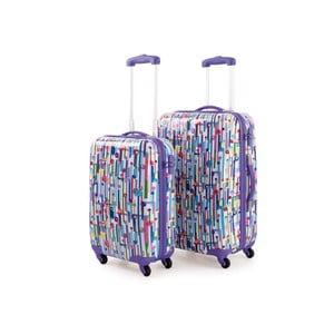 Sada 2 cestovných kufrov Skpa-T, fialová