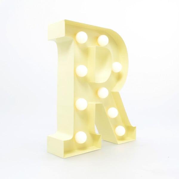 Dekoratívne svetlo Carnival R, vanilkové