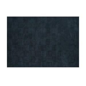 Vlnený koberec Luzern, 140x200 cm, oceľová modrá