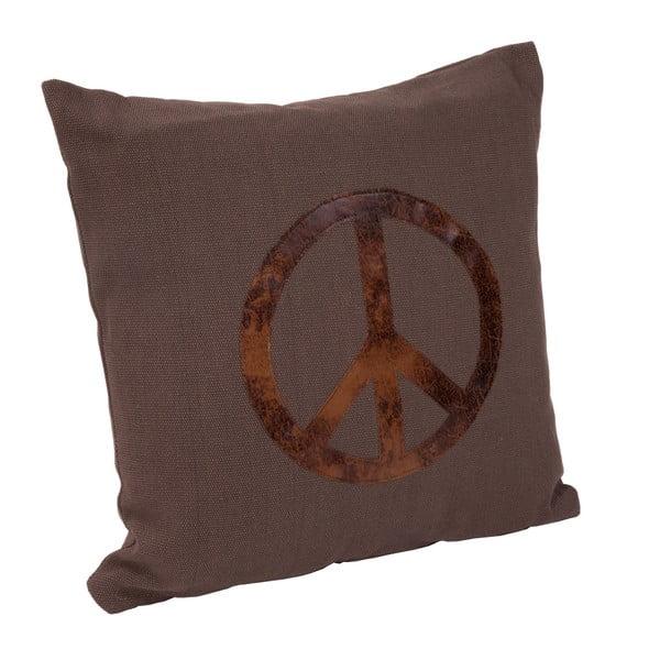 Vankúš s výplňou Peace, 40x40 cm