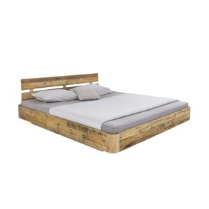 Dvojlôžková posteľ z borovicového dreva Woodking Darryl, 180 x 200 cm