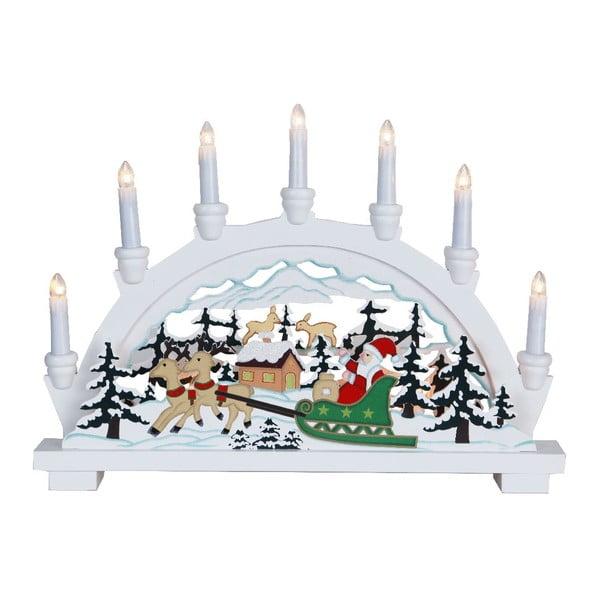 Svietiaca dekorácia Best Season Santa in Sledge