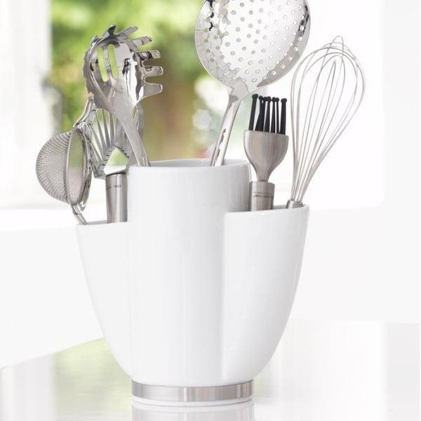 Porcelánový držiak na kuchynské nástroje Steel Function Roma