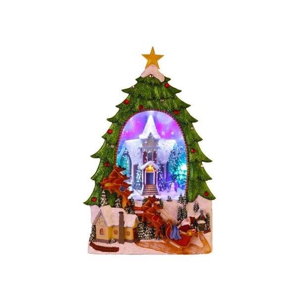 Svietiaca dekorácia Christmas Sledge