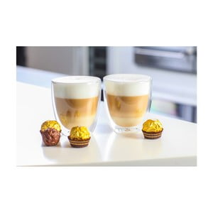Sada 2 dvojitých pohárov Vialli Design Double, 320 ml
