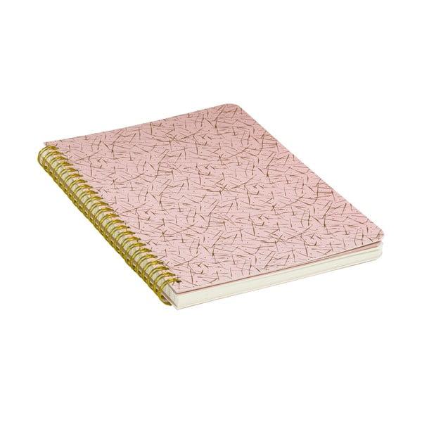 Zápisník Stockholm Spiral, ružový