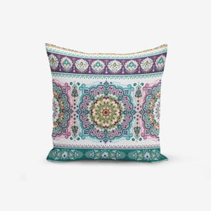 Obliečka na vankúš Minimalist Cushion Covers Ethnic Geometric, 45 × 45 cm